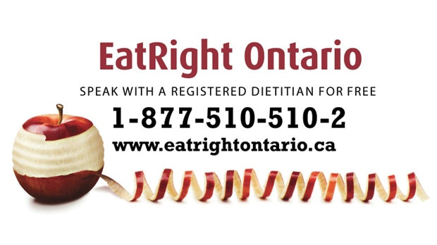 Eating right ontario