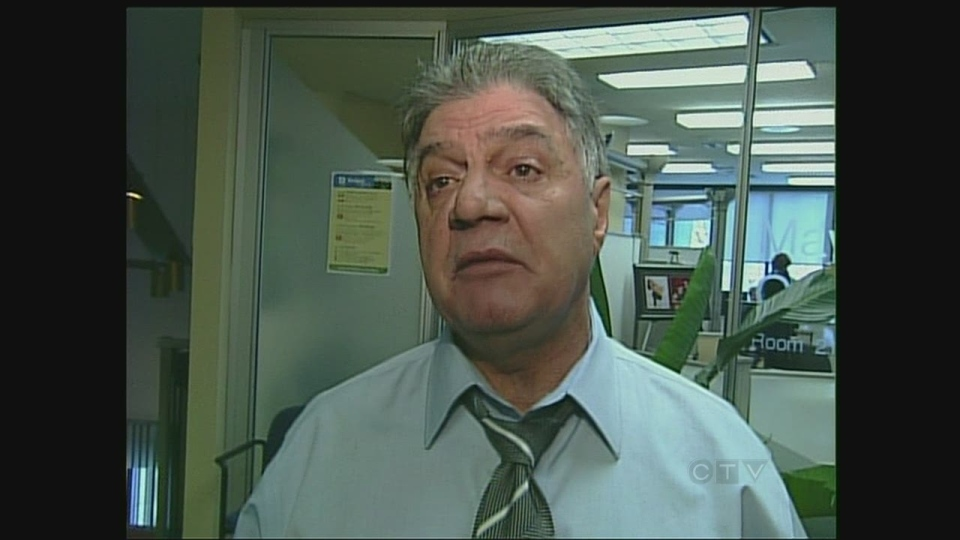 London Mayor Joe Fontana discusses the awards in London, Ont. on Tuesday, Feb. 5, 2013.