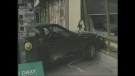 Car crashes into downtown Starbucks