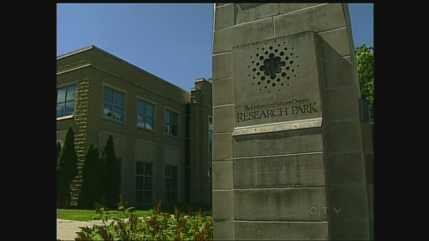 The Research Park at Western University is seen in London, Ont. on Friday, July 26, 2013.