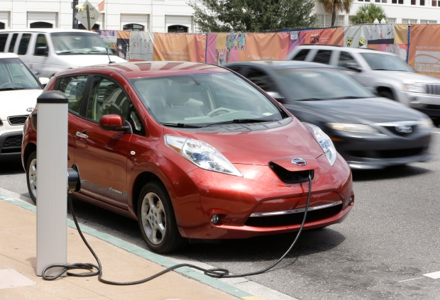 Orangeville to get electric vehicle charging station