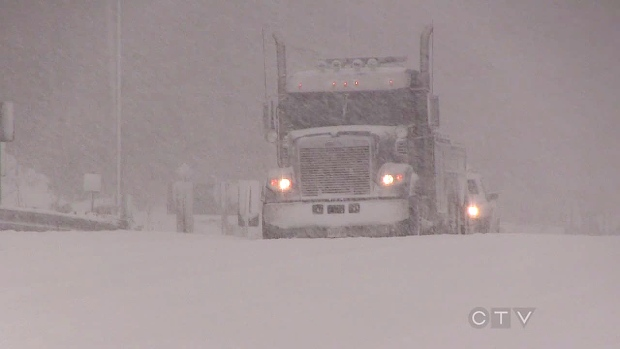 Snow squall warning remains in effect