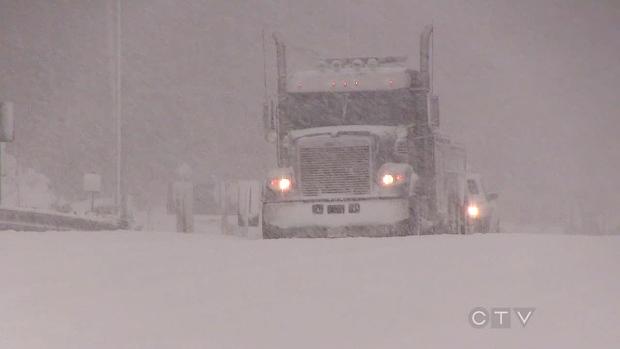 Parts of Muskoka remain under snow squall warning
