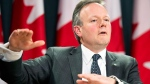 Bank of Canada Governor Stephen Poloz speaks with the media in Ottawa, Wednesday, Jan. 22, 2014. (Adrian Wyld / THE CANADIAN PRESS)