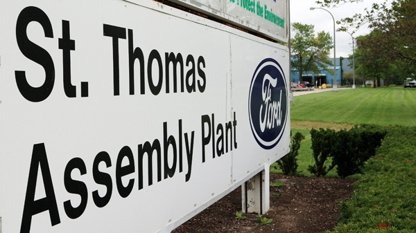 ford, ford assembly plant, st. thomas ford plant