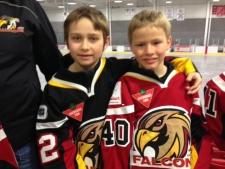 Hanover, Ontario Eight-year-old Brayden MacIntosh Scored 107 Goals This Year - In Season Finale He Nets Three Goals In 10 Seconds