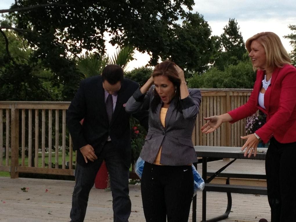 CTV London anchor takes ALS Ice Bucket Challenge - CTV London News