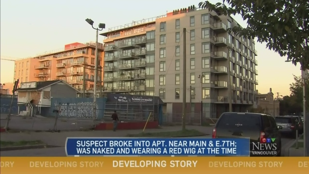 CTV Vancouver: Home invaded by naked man | CTV London News