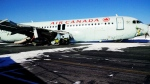 An Air Canada flight made what aviation experts describe as a 'hard landing' during a blizzard in Halifax. Several passengers were sent to the hospital with minor injuries and RCMP is investigating the incident. (Transportation Safety Board of Canada)