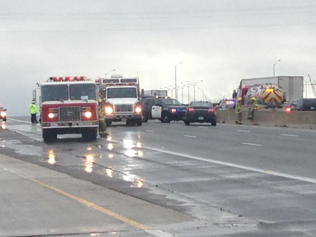 Highway 401 crash Putnam