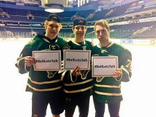London Knights #BellLetsTalks