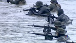 Military teams storm Comox Lake for dive training