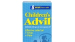 Children's Advil is pictured in this photo above.