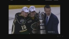 The London Knights won the Wayne Gretzky Trophy after sweeping the Erie Otters to advance to the OHL Finals on Wednesday, April 27, 2016.