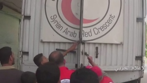CTV News Channel: Aid arrives in Syrian villages