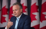 Bank of Canada Governor Stephen Poloz speaks about the Financial System Review during a news conference in Ottawa, Thursday, June 9, 2016. THE CANADIAN PRESS/Adrian Wyld
