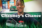 Chauncy Black is shown in this image from a GoFundMe page dedicated to buying him a lawnmower. (GoFundMe / Matt White)