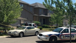 London Police investigate a shooting on Beaverbrook Avenue Saturday, June 25th, 2016