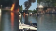 A boat exploded after re-fuelling in Turkey Point on Friday, June 24th, 2016.