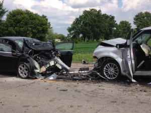 Fatal crash on Glendon Dr. outside of London Ont. on  July 25, 2016. (Jim Knight/CTV)