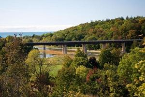Menesetung Bridge  (Photo by Bluewater Tourism)