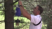 Mosquito traps used to test for West Nile virus