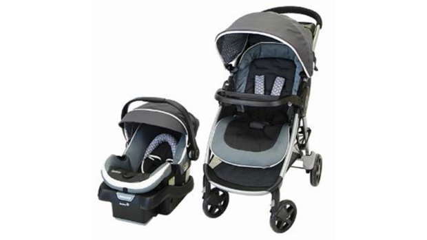 Baby stroller recall issued for Safety 1st Step and Go product
