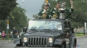 London Knights Memorial Cup victory parade. Norm J