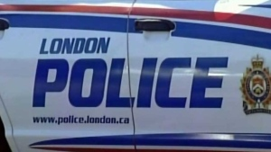London Police investigating a suspicious death in a downtown London highrise on August 28th, 2016.