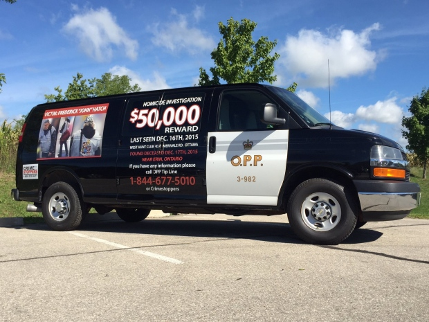 OPP hope 'moving billboard' will aid unsolved murder investigation