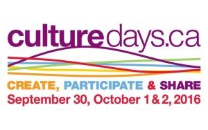 Culture Days 2016