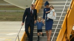 Royals arrive