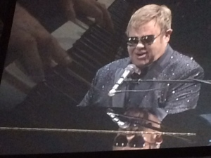 Elton John performs for a sold out crowd at Budweiser Gardens on Thursday, September 29, 2016. (CTV London)