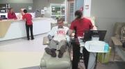 Blood donor John Gill makes 1,000 donation