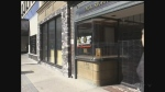Vacant store fronts in downtown London on Monday, October 24, 2016. (Daryl Newcombe / CTV London)