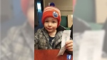 Father claims 50/50 ticket at Oilers game after on