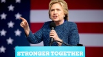Democratic presidential candidate Hillary Clinton speaks at a rally at NewBo City Market in Cedar Rapids, Iowa, Friday, Oct. 28, 2016. (AP Photo/Andrew Harnik)