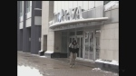 A man walks by Citi Plaza on Tuesday, Jan. 17, 2017. (Daryl Newcombe / CTV London)