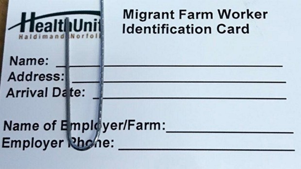 Migrant worker ID card