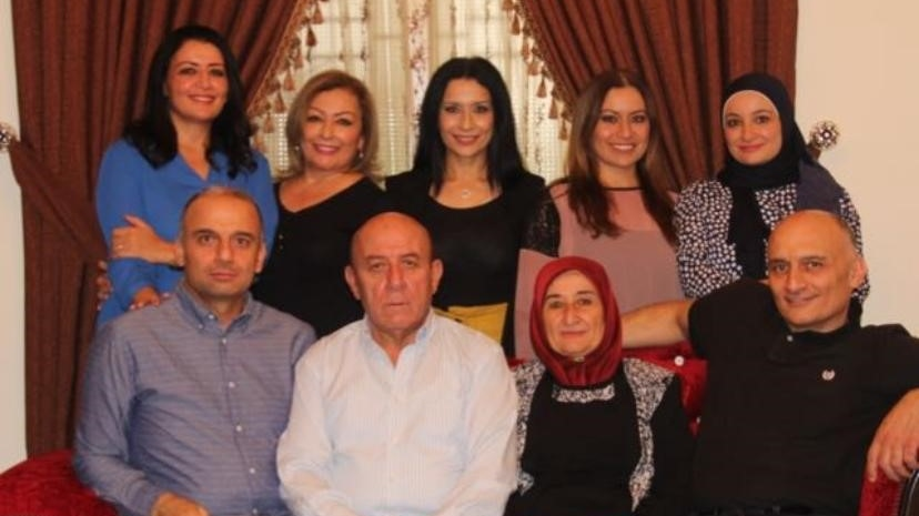 Basema Hammoud (top row, middle)
