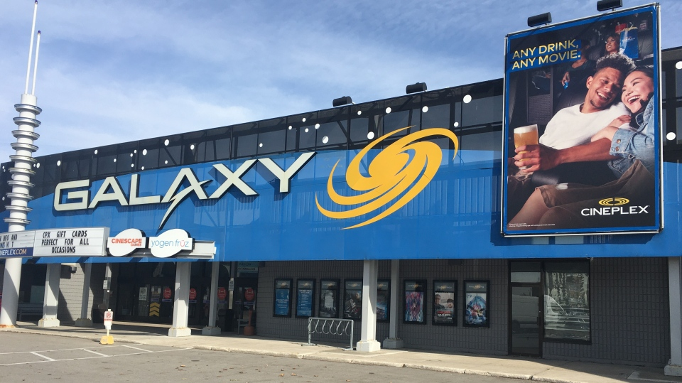 Elgin Centre Cineplex in St. Thomas, Ont.
