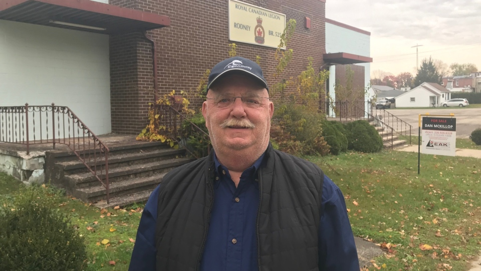 West Elgin Mayor Duncan McPhail