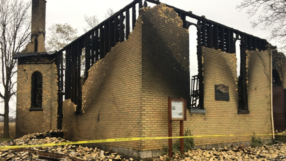 South Caradoc United Church Fire