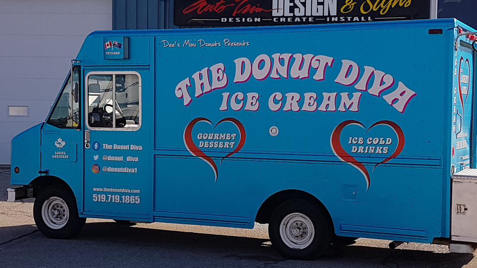 The Donut Diva Ice Cream Truck