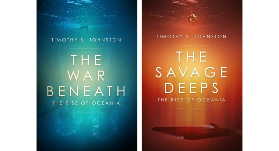 The War Beneath, the Savage Deeps covers