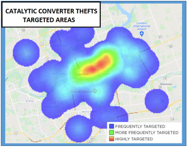 Map Converter Thefts