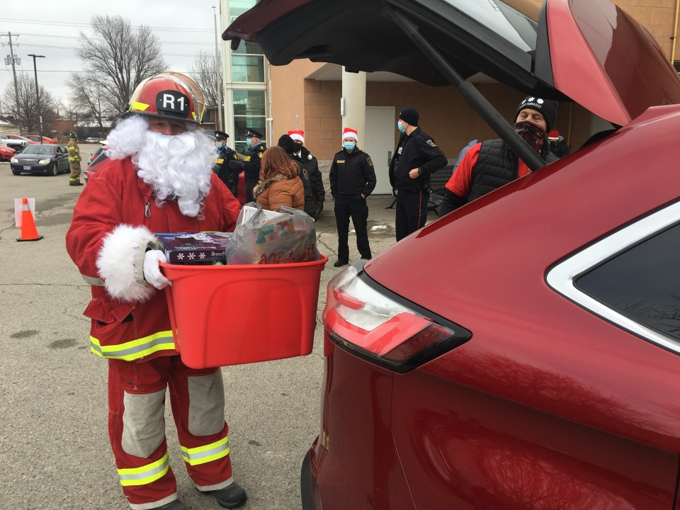 Lights and Sirens Toy Drive