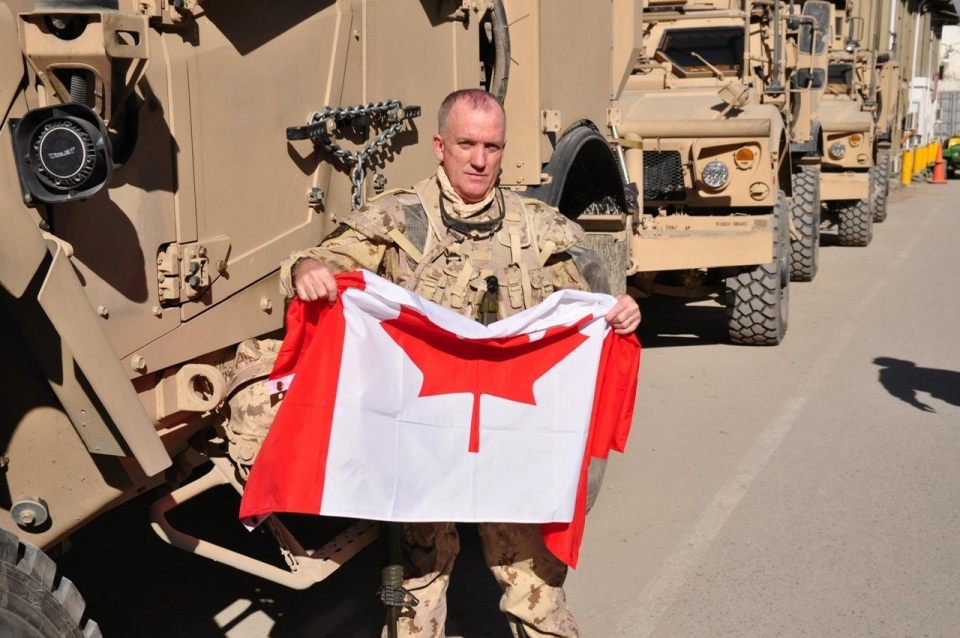 David Lewis in Afghanistan