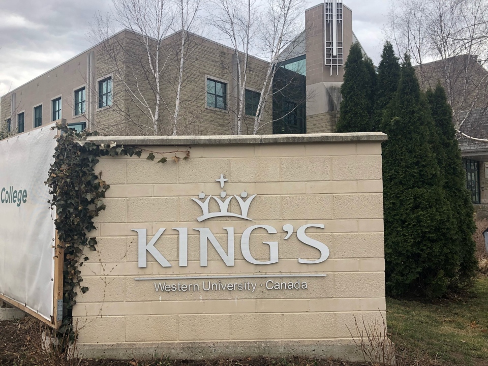 King's University College in London Ont.
