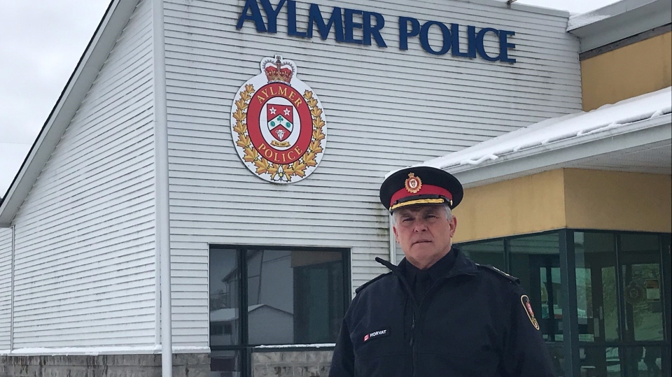 Aylmer police chief